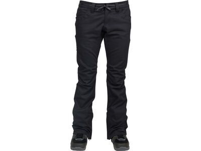 Nitro L1 Heartbreaker Denim Pants, black overdye denim - Snowboardhose
