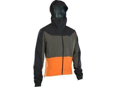 ION Hybrid Jacket Traze Select, riot orange - Radjacke
