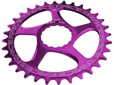 Race Face Direct Mount Cinch Narrow Wide - 10/11/12-fach purple