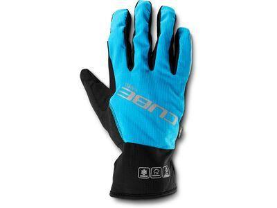 Cube Handschuhe X-Shell langfinger X Natural Fit, blue´n´black - Fahrradhandschuhe