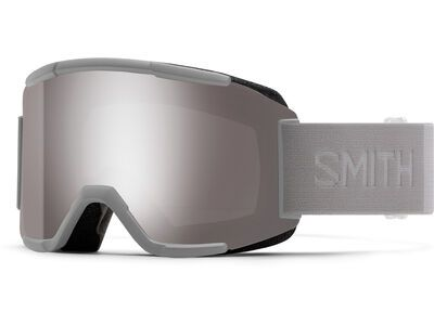 Smith Squad inkl. WS, cloudgrey/Lens: cp sun platinum mir - Skibrille
