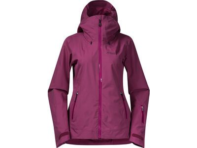 Bergans Stranda Insulated Hybrid W Jacket beet red/purple valvet