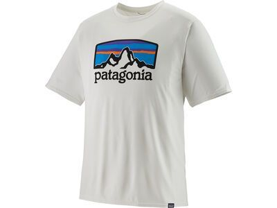 Patagonia Men's Capilene Cool Daily Graphic Shirt, white - Funktionsshirt
