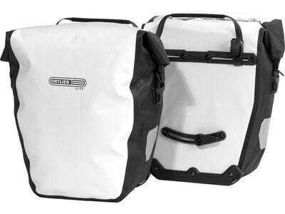 Ortlieb Back-Roller City (Paar), weiß-schwarz - Fahrradtasche