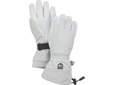 Hestra Heli Ski Female 5 Finger, pale grey/offwhite - Skihandschuhe