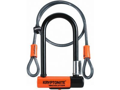 Kryptonite Evolution Mini-7 + KryptoFLex - Fahrradschloss