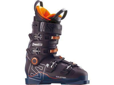*** 2. Wahl *** Salomon X Max 120 2018, black/petrol blue/orange - Skiboots | Größe 28,5 // 45