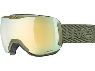 uvex downhill 2100 CV mirror gold croco mat