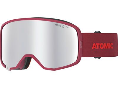 Atomic Revent HD, red/Lens: silver hd - Skibrille