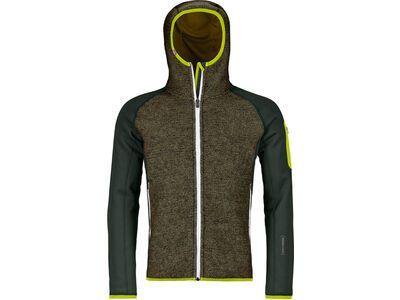 Ortovox Merino Fleece Plus Classic Knit Hoody M green pine