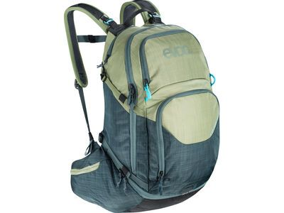 Evoc Explorer Pro 26l, heather light olive-heather slate - Fahrradrucksack