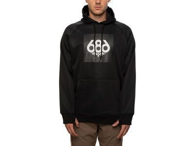 686 Men's Bonded Fleece Pullover Hoody black