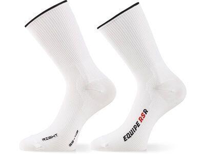 Assos RSR Socks, holywhite - Radsocken