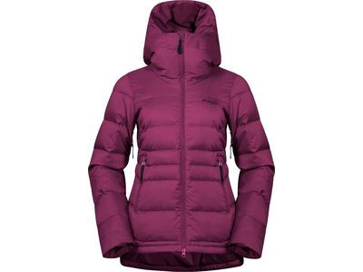 Bergans Stranda Down Hybrid W Jacket beet red/purple valvet