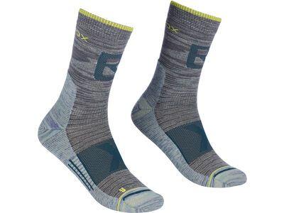 Ortovox Alpinist Pro Compression Mid Socks M grey blend