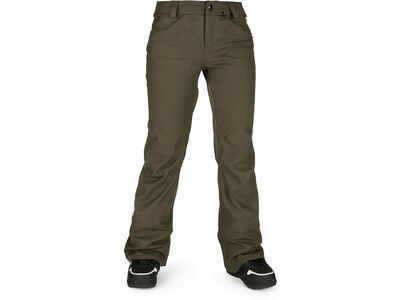 Volcom Species Stretch Pant, black military - Snowboardhose