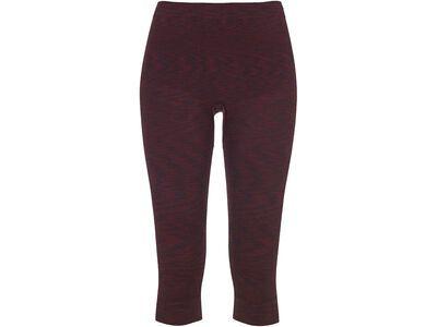 Ortovox 230 Merino Competition Short Pants W, dark wine blend - Unterhose