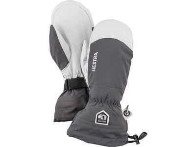 Hestra Army Leather Heli Ski Mitt, grey - Skihandschuhe