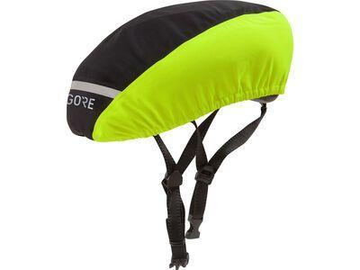 Gore Wear C3 Gore-Tex Helmüberzug, black/neon yellow