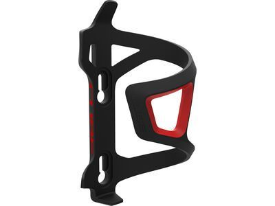 Cube Flaschenhalter HPP Left-Hand Sidecage black'n'red