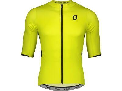 Scott RC Premium S/Sl Men's Shirt, sulphur yellow/black - Radtrikot