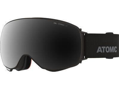 Atomic Revent Q Stereo inkl. WS, black/Lens: black - Skibrille
