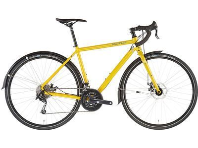 Kona Sutra AL SE gloss mustard w/ bark & chalk decals 2021