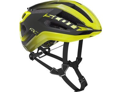 Scott Centric Plus Helmet, radium yellow/dark grey - Fahrradhelm
