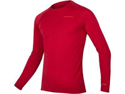 Endura BaaBaa Blend L/S Baselayer, rost - Unterhemd