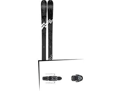 Set: K2 SKI Press 2019 + Atomic Warden MNC 11 black/black