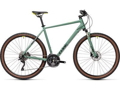 Cube Nature EXC 2021, green´n´bluegreen - Fitnessbike