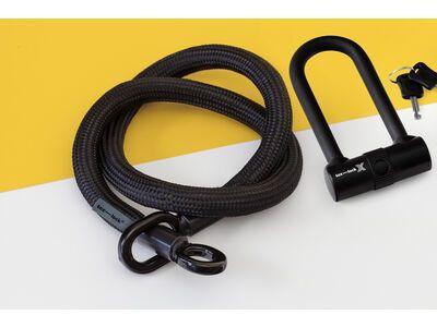 Tex-Lock Tex-Lock Eyelet M 120 cm inkl. X-Lock schwarz