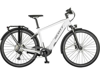 Scott Sub Sport eRide 10 Men gloss white/steel grey 2021