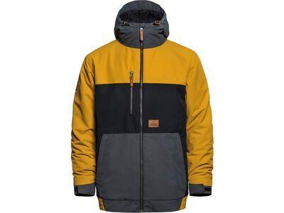 Horsefeathers Revel Jacket, golden yellow - Snowboardjacke