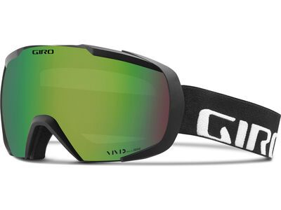 Giro Onset, black wordmark/Lens: vivid emerald - Skibrille