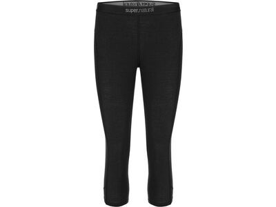 SuperNatural W Base 3/4 Tight 175, jet black - Unterhose