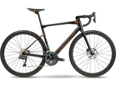 BMC Roadmachine 01 Four 2021, carbon & orange - Rennrad