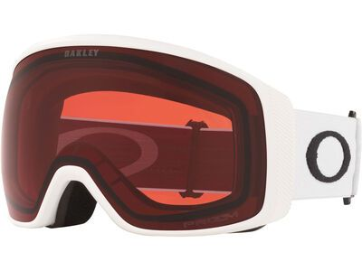 Oakley Flight Tracker XL Prizm, matte white/Lens: rose - Skibrille