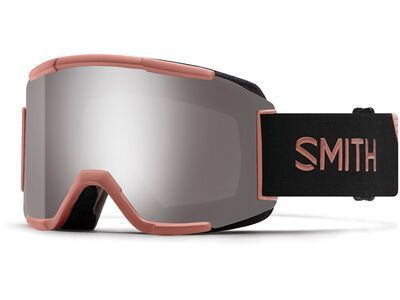 *** 2. Wahl *** Smith Squad inkl. WS, champagne/Lens: cp sun platinum mir - Skibrille |