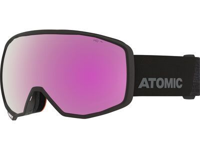 Atomic Count HD, black/Lens: pink/copper hd - Skibrille