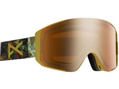 Anon Sync inkl. WS, camo/lens: sonar bronze - Skibrille