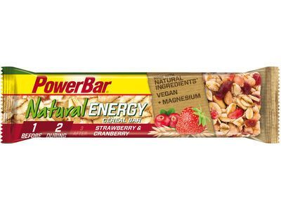 PowerBar Natural Energy Cereal (Vegan) - Strawberry Cranberry - Energieriegel