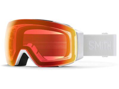 Smith I/O Mag inkl. WS, white vapor/Lens: cp everyday red mir - Skibrille