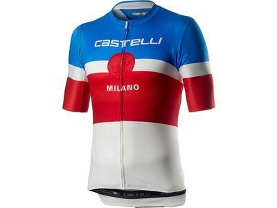 Castelli Milano Jersey, white - Radtrikot
