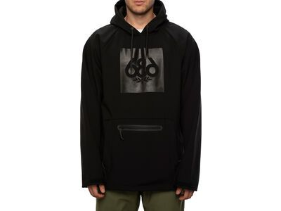 686 Men's Waterproof Hoody, black - Snowboardjacke
