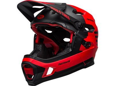 Bell Super DH Spherical MIPS matt/gloss red/black fasthouse