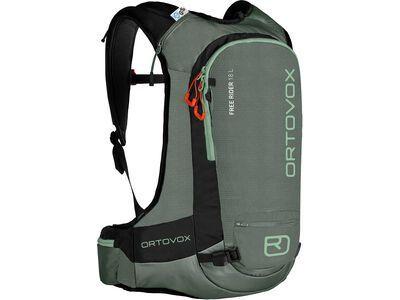 Ortovox Free Rider 18 L, green forest - Rucksack