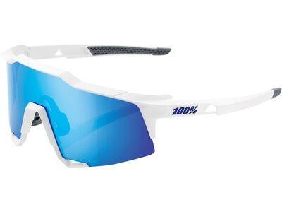 100% Speedcraft - HIPER Blue ML Mir matte white
