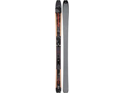 Dynafit Seven Summits Ski Set inkl. Skin 2021, grey/ red - Tourenski