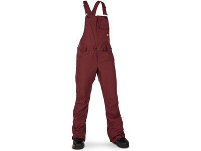 Volcom Swift Bib Overall, scarlet - Snowboardhose